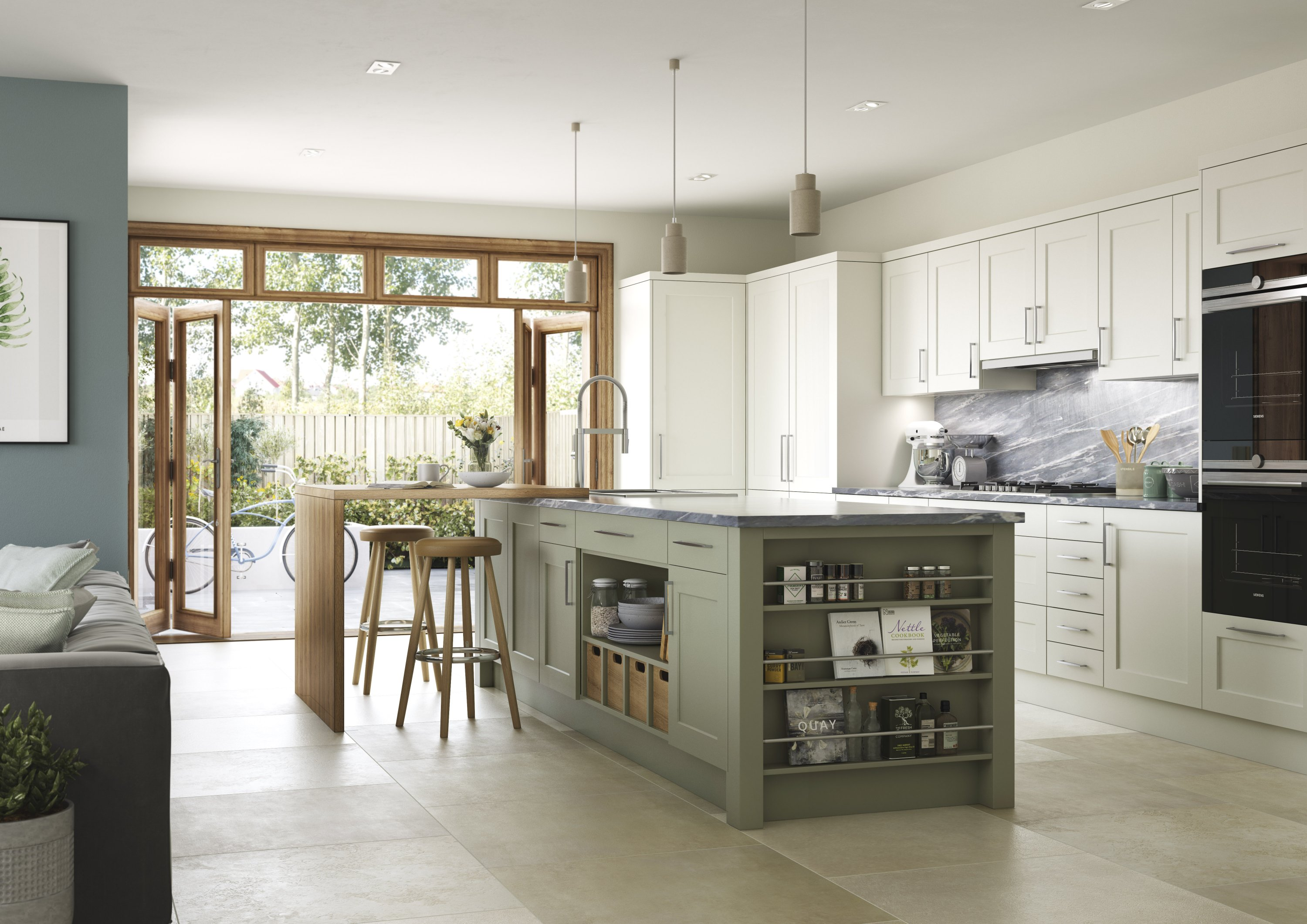 Relaxed Easy Living From Mereway Kitchens - Roman Bathrooms