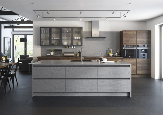 Looking For An Urban And Industrial Kitchen Design Roman